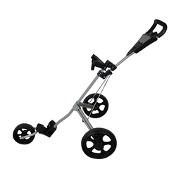 PLAYEAGLE Golf Warenkorb Aluminium Einstellbare Golf Trolley 3 Räder Push Pull Golf Warenkorb Aluminium Legierung Faltbare Trolley Mit Bremse