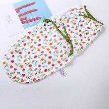 Baby Swaddling Wrap 0-6month Infant Newborn Sleepsack Swaddle Cotton Sleeping Bag Cute Cartoon Infant Envolpe Sleeping Blanket