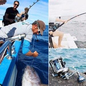 Image 5 - Sougayilang מלוחים יצוק תוף גלגל חכות סליל מלא מתכת סירת מלוחים סליל ימין HandOcean דיג סליל