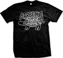Bbq Pig Summer Cookout Delicious Grill Master Bacon Grilling New Mens T-Shirt Unisex Tees(China)
