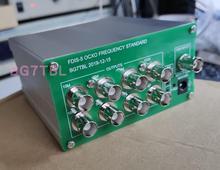 Tarafından BG7TBL FDIS 5 OCXO frekans standart, fırın kristal standart, 10 M, 5 M, 1 M, 100 K, 1PPS çıkışı ücretsiz kargo