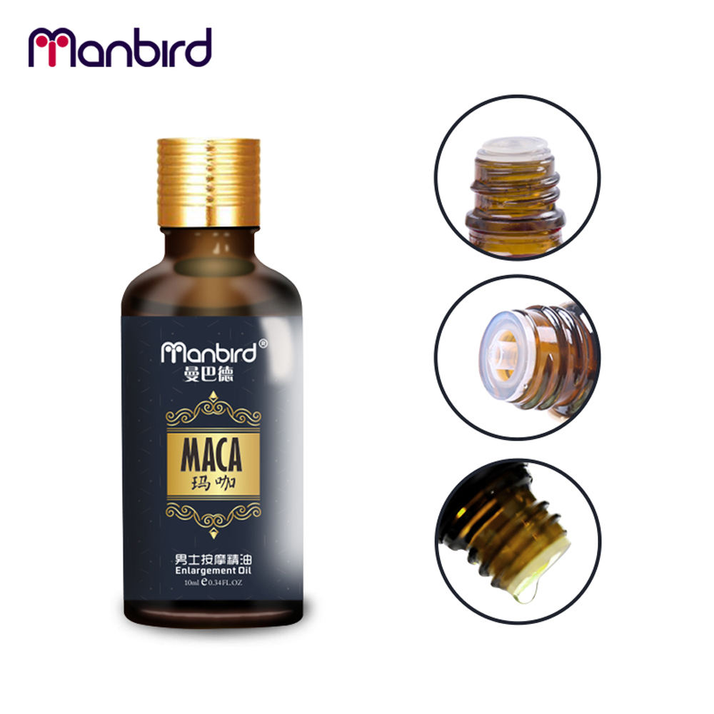 3Pcs Penis Enlargement Developed Sex Delay Essential Oil Dick Growth Thicken Stronger MACA Fast Effective Erection Lube for Men 4