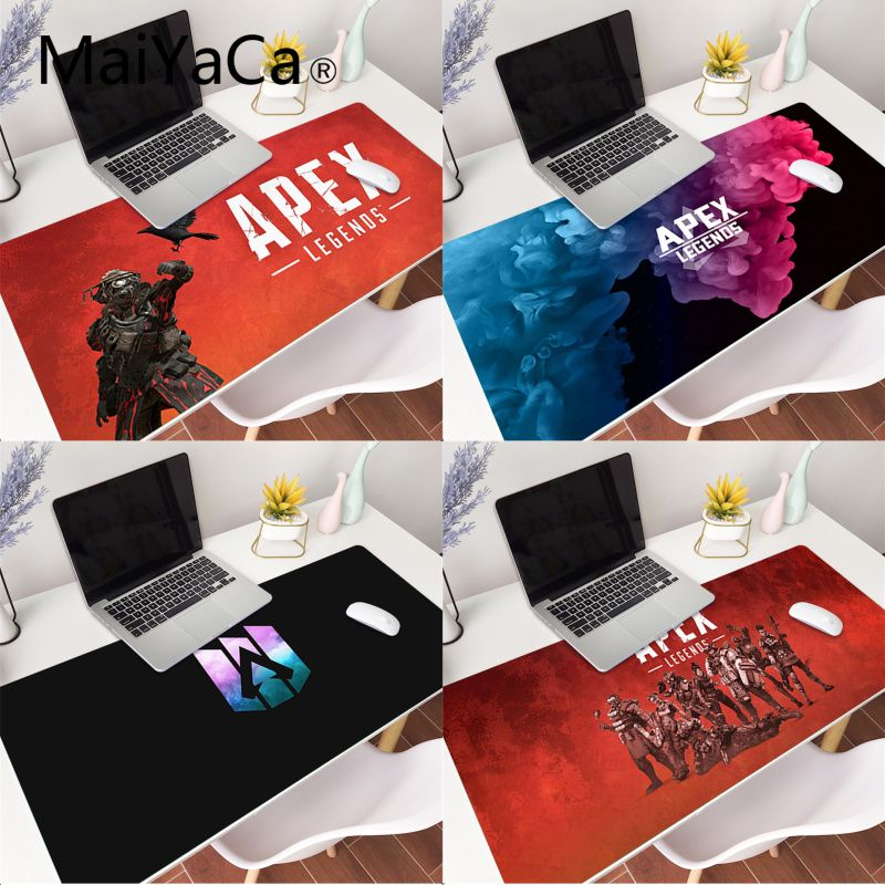 MaiYaCa Hot Sales Apex legends mouse pad gamer play mats Gaming Mouse Pad Large Deak Mat 900x400mm for overwatch/cs go