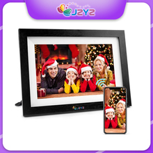 """10.1"""" HD Digital Photo Frame Frameo Android App 16GB Touch Control Picture Vedio Mult Media Player MP3 MP4 Alarm Clock"""
