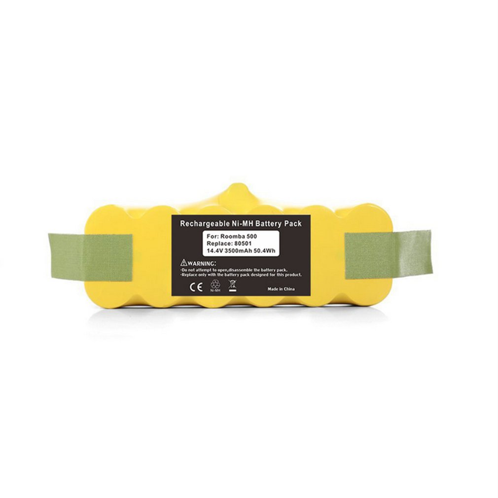 Eleoption High Capacity 3500mAh/2500mAh 14.4V Battery Power Tool Battery For Irobot Roomba Vacuum Cleaner 500