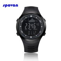 Relogio Masculino SPOVAN Digital Sport Watch Mens Waterproof Barometer Altimeter Thermometer Stopwatch Wristwatch Clock Men Saat