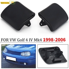 2pcs/Pair Left/Right Side Front Bumper Headlight Washer Nozzle Cover Cap For VW Golf 4 IV Mk4 1997 1999 2000 2001 2002   2006