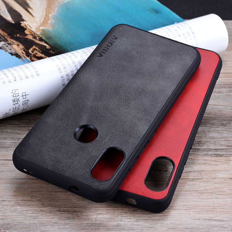 Case For Xiaomi Mi A2 Lite Phone Funda Luxury Vintage Leather Cover For Xiaomi Mi A2 Lite Case Coque Capa Business Vintage Style