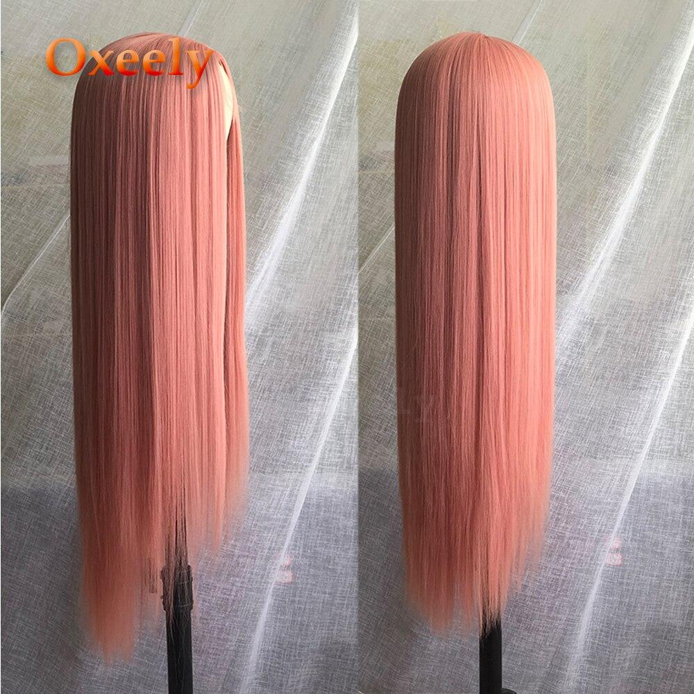 reta longa perucas de cabelo natural do 05