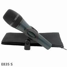 цена на Professional Microphone E835 Dynamic Karaoke Recording Studio Wired Retro Capsule Mic Vocal Singing For Vintage Home KTV