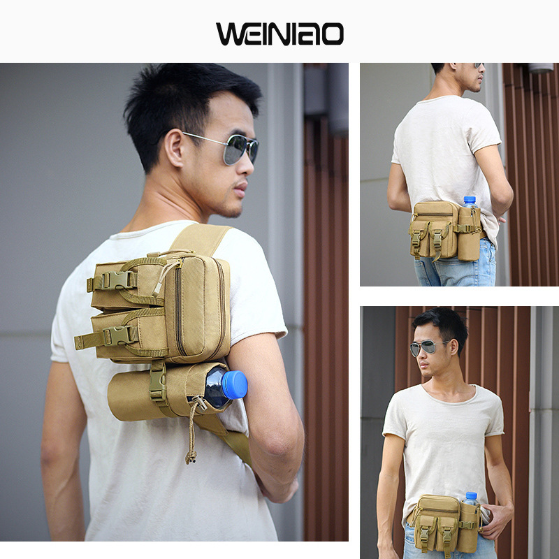 Sports Mobile Phone Waist Bag Running Men Wallet Men And Women Wallet Anime Cartoon Canvas Equipment Practical See Details-
