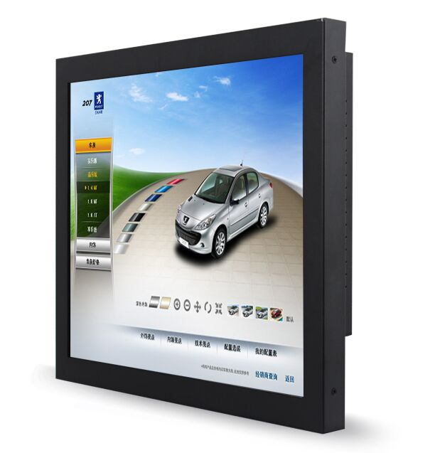 High Brightness Industrial Touch Screen All In One 12 Inch Wall Mounted Mini Panel Pc With Camera