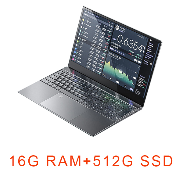 15.6 inch Gaming Laptop i7 8G/16G RAM 1TB/128G/256G/512G SSD Notebook Computer Laptop 192081080 IPS Display Ultrabook
