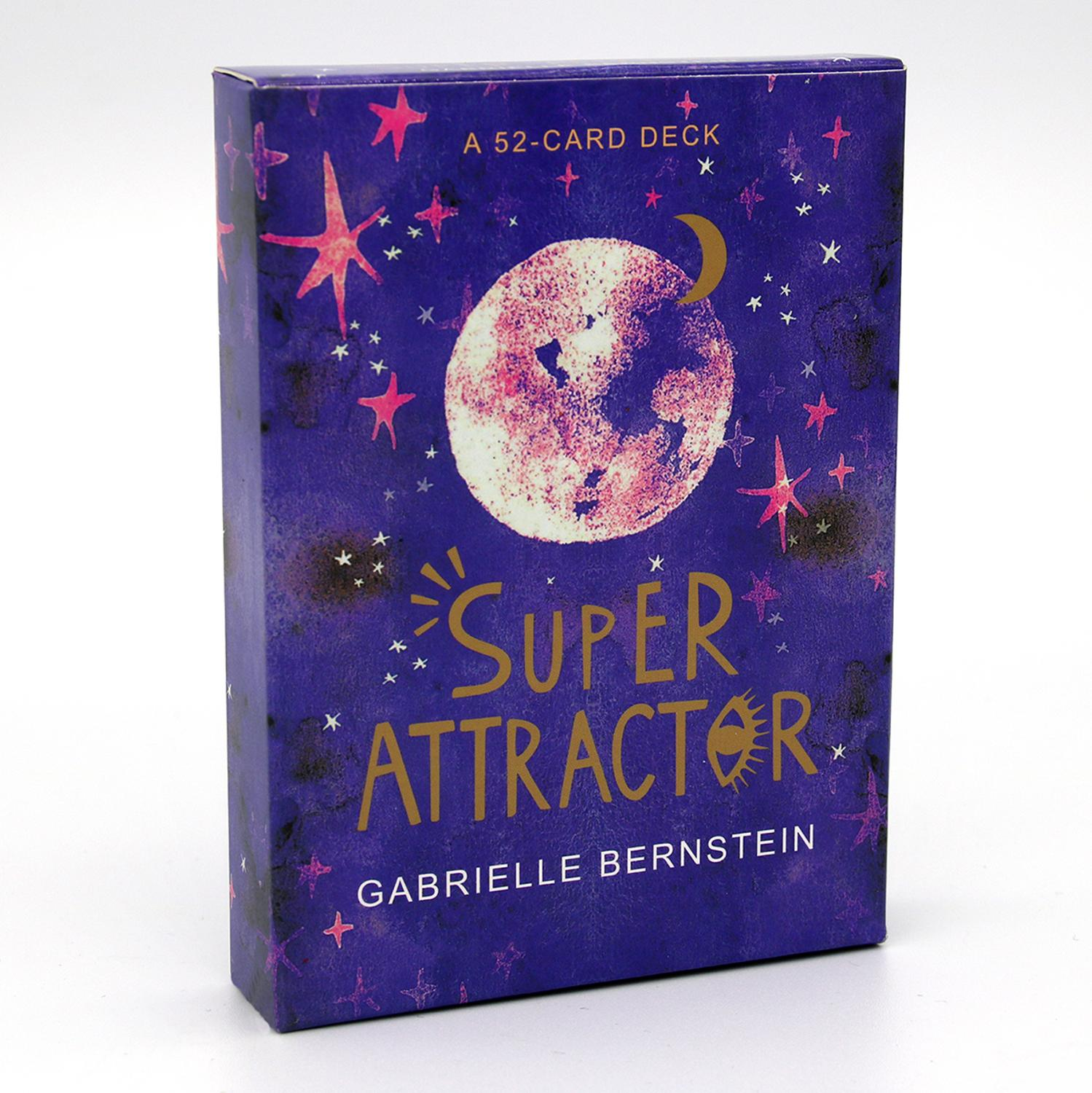 Super Attractor A 52-Card Deck Cards Oracle Tarot Game