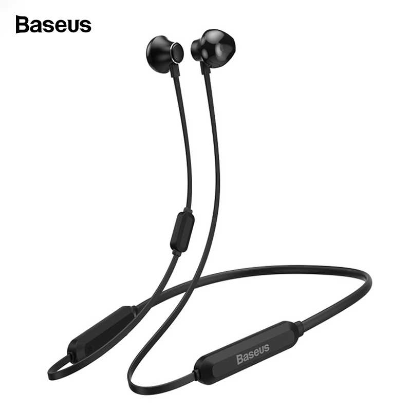 Baseus S11A Bluetooth イヤホンヘッドホンワイヤレスヘッドセットネックバンドスポーツイヤフォン Iphone Xiaomi サムスン auriculares マイク