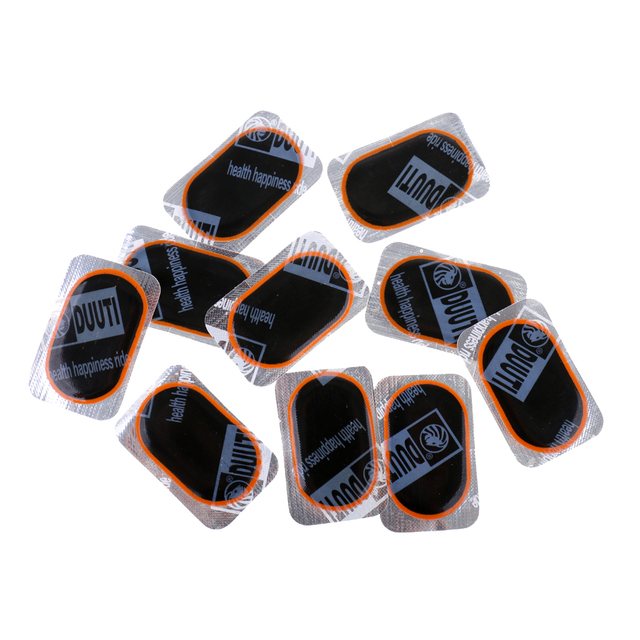 Lot 10 Pieces Inner Tube Puncture Repair Kit Car Van Bike Truck Tire Tyre Patches Light Weight ultra thin Easy to Carry