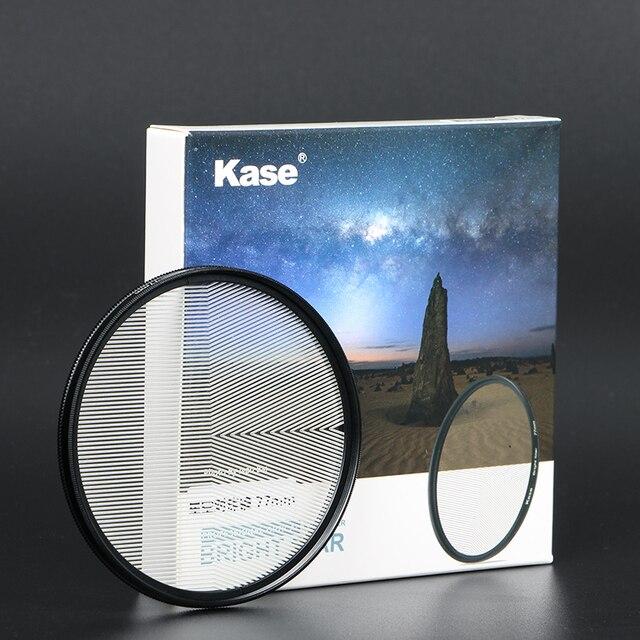 Kase 77mm/82mm jasna gwiazda precyzyjny asystent ustawianie ostrości szklana soczewka optyczna filtr naturalny nocny widok gwiaździste niebo fotografia