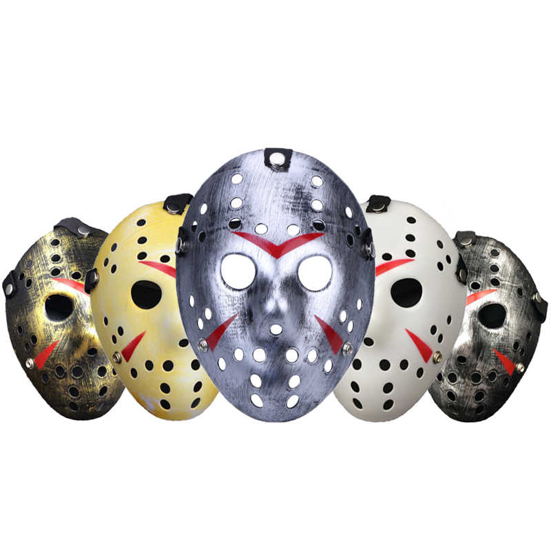Party Decoration Mask Freddy VS Jason Movie Mask Full Face Carnival Masquerade Ball Cosplay Masks Halloween Party Decor Supplies