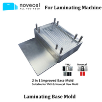 Novecel Base Mold Metal Mould for Laminating Machine Vacuum Laminator lcd Screen Repair Compatible with YMJ Machine
