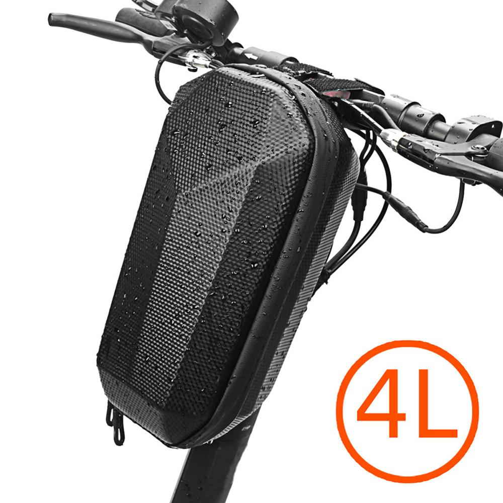 4L Handlebar Storage Bag For Xiaomi M365 Electric Scooter EVA Front Head Carrying Pack