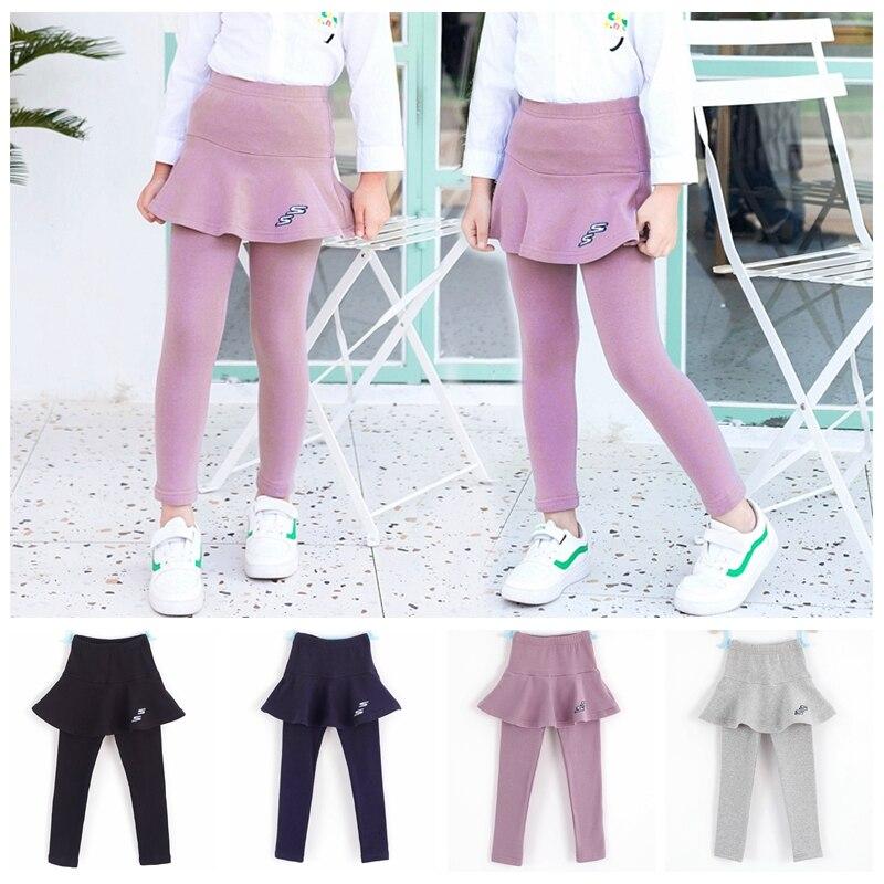 2019 Anak Perempuan Celana Kurus Anak Anak Legging Anak Pakaian Musim Gugur Kapas Legging Bayi Gadis Rok Celana Kualitas Tinggi 2 8y Legging Aliexpress