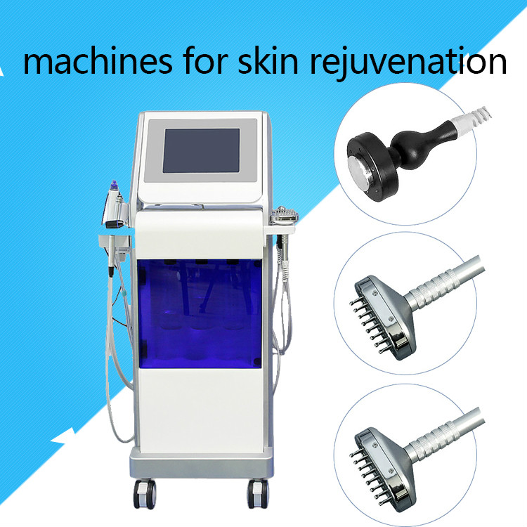 2019 Hydro Facial Deep Cleansing Hydra Crystal Diamond Machine Oxygen Hydra Facial Skin Rejuvenation