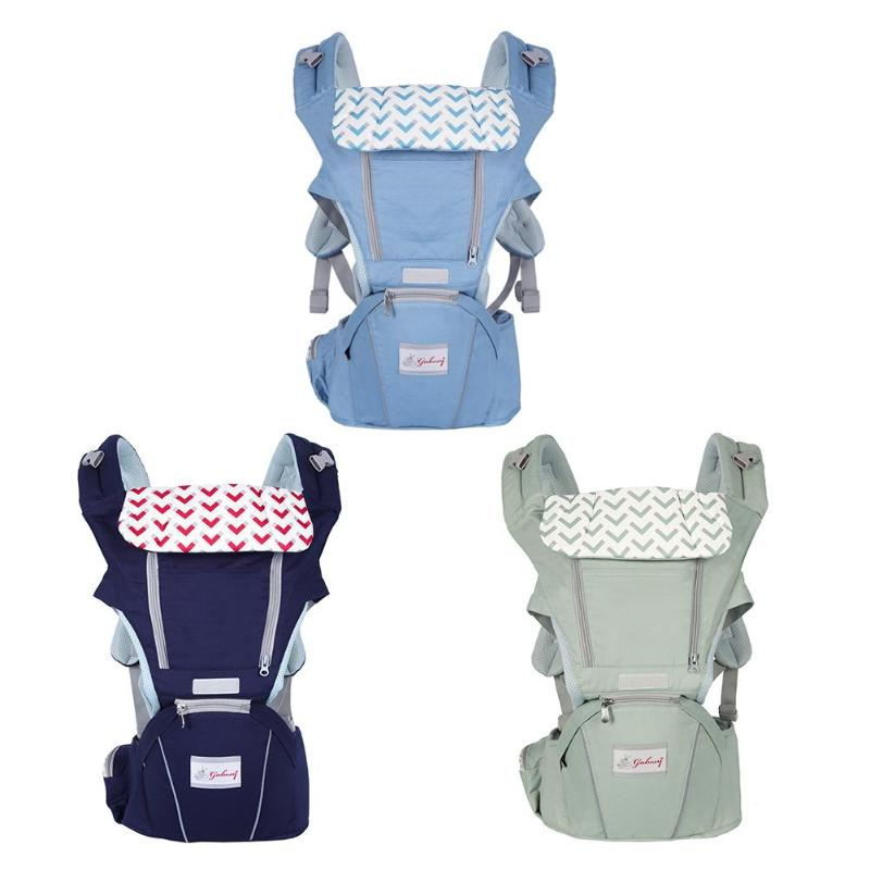 2-30 Months Baby Carrier Breathable Front Facing Baby Carrier Comfortable Sling Backpack Pouch Wrap Waist Stool Breathable