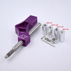 Image 5 - Pommeau de levier de levier de manette de vitesse réglable en aluminium pour Honda Civic Integra CRX B16 B18 B20 D Series