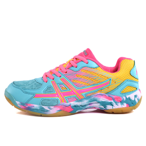 Новые женские теннисные туфли для тренировок, Женская качественная женская обувь для мужчин, размер 35-45, роскошная обувь для бадминтона, кро...