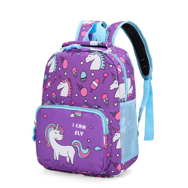 2020 Hot Children Orthopedic Schoolbag Kids Preschooler Backpacks Unicorn Cartoon School Bags Mjoypack Mochila Escolar Menino