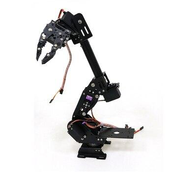 DoArm S8 8-DoF Aluminum Alloy Metal Robotic Arm/Hand Robotic Manipulator For Arduino WiFi Kit