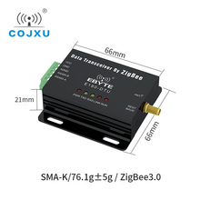 زيجبي 3.0 RS485 مخصصة الشبكات IoT جهاز الإرسال والاستقبال اللاسلكي راديو مودم E180 DTU (ZG120 485)