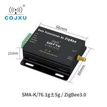 ZigBee 3.0 RS485 אד הוק רשת IoT אלחוטי משדר רדיו מודם E180 DTU (ZG120 485)
