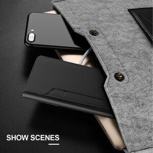 Image 5 - Pour Oukitel K9 étui mat luxe portefeuille en cuir synthétique polyuréthane housse de support rabattable avec miroir et fentes pour cartes pour Oukitel K9 étui antichoc
