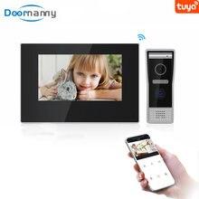 Видеодомофон с сенсорным экраном wi fi и камерой