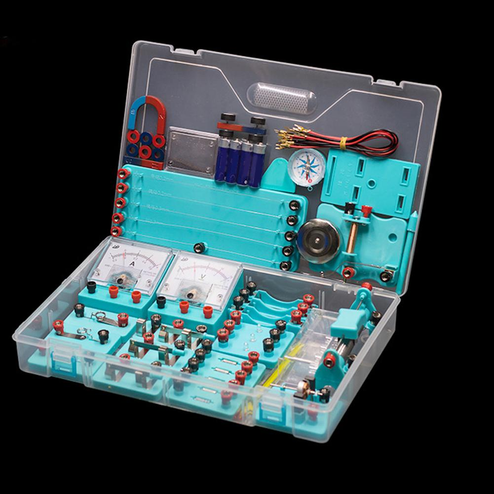 School Physics Labs Basic Electricity Discovery Circuit And Magnetism Experiment Kits For Junior Senior High School