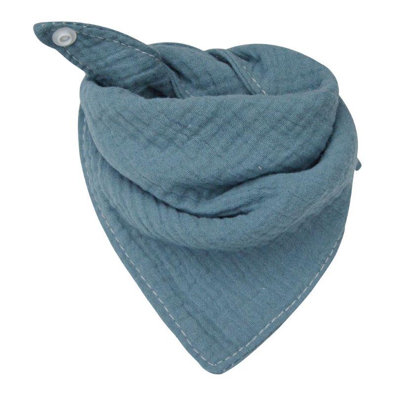 Baby Infant Cotton Bib Newborn Solid Color Triangle Scarf Feeding Saliva Towel Bandana Burp Cloth Boy Girl Shower Gifts