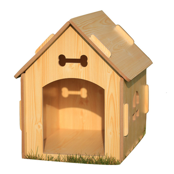 Four Seasons Large Kennel Room Domestic And Foreign Can Wash   Rain Proof Woodiness  Pets Nest Dog House