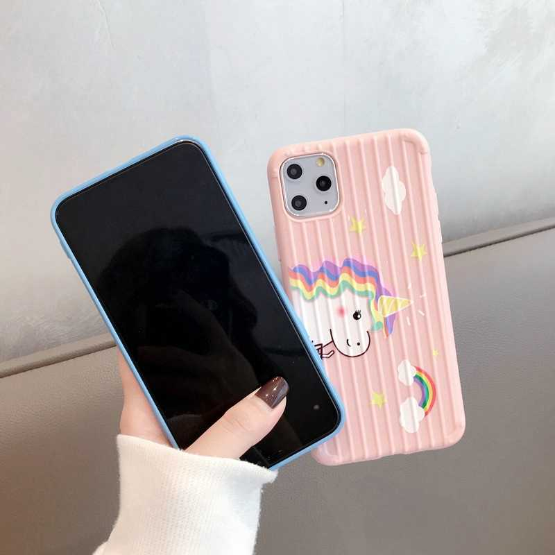 Luggage Unicorn For Huawei Mate 30 Lite Case Soft For Huawei P30Pro P20 P30 P 30 Pro Mate 20 Pro P Smart 2019 Honor 8X Case
