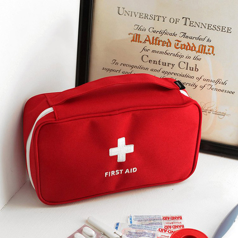 First Aid Medical Bag Outdoor Rescue Emergency Survival Treatment Storage Bags PUO88