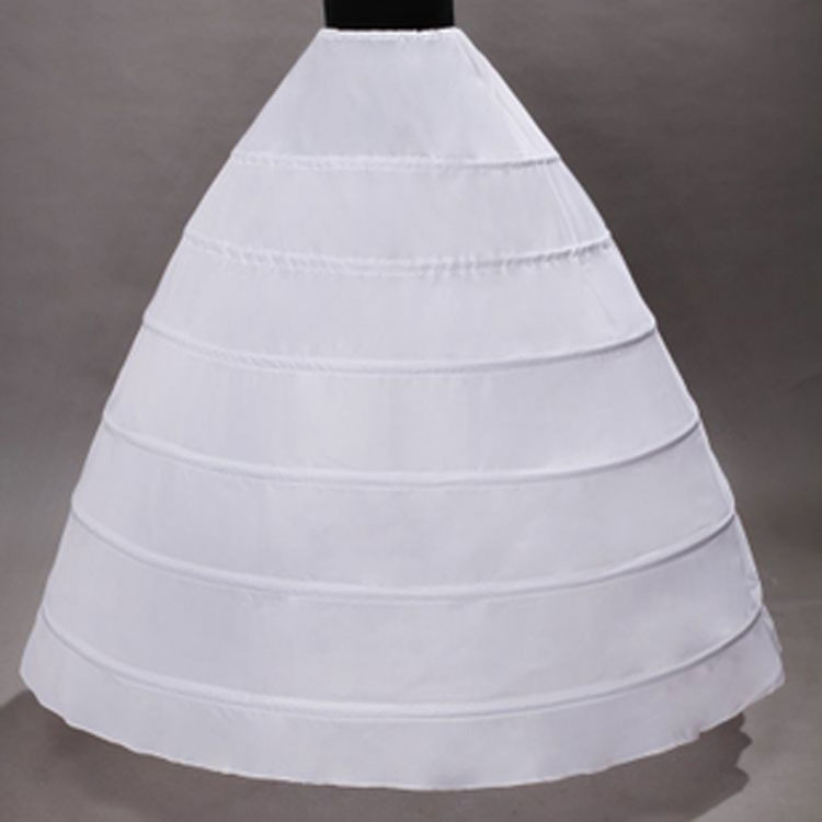 Six Steel Crinoline Wedding Dress Tutu Skirt Costume Slip Dress 8 Circle Non-Yarn Extra-large Pannier Wedding Dress Factory