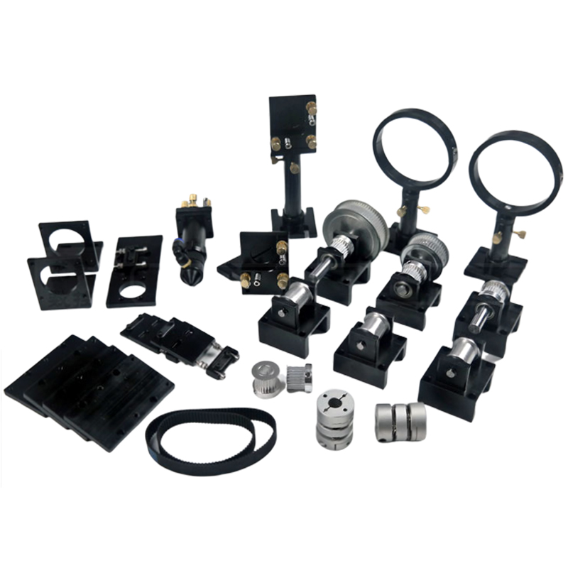 CO2 Metal Parts Transmission Head Mechanical Components For DIY CO2 Engraving Cutting Machine