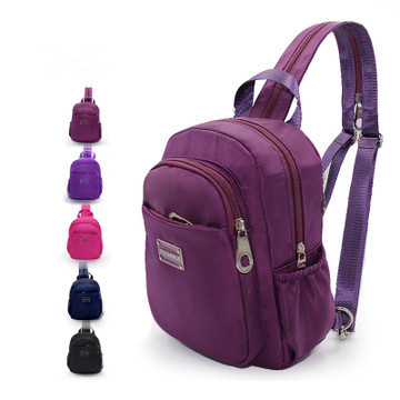 2019 New Leisure Travel Single Shoulder Backpack Multifunction Chest Backpack For Women Casual Crossbody Bag Sac A Dos Femme