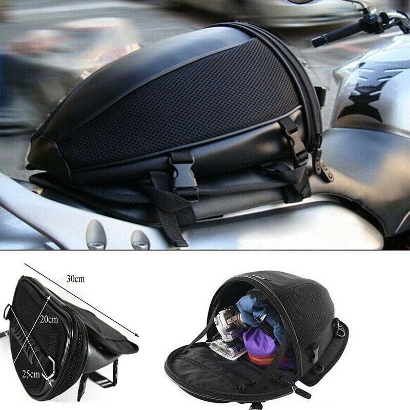 traseiro da motocicleta alta capacidade moto mochila saco dropship