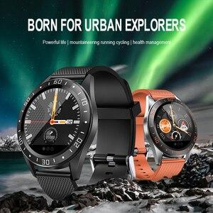 Image 2 - Lerbyee Smart Watch GT105 Bluetooth Waterproof Heart Rate Monitor Blood Pressure Smartwatch Men Women Call Reminder Hot Sale
