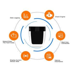 Image 3 - Herramienta de diagnóstico de coche, escáner OBD2 ELM327 V2.2, PIC18F25K80, Bluetooth 4,0, mejor que elm 327 V1.5