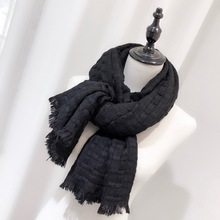 New 2019 Pure Cashmere Scarf in Autumn and Winter