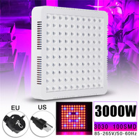 LED Grow Lights Lamp Panel Hydroponic Plant Growing 3000W Full Spectrum For Veg Flower Indoor Plant Seeds AC85 265V