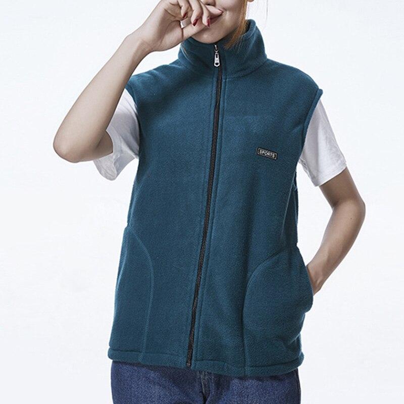 2020 New Fleece Women Vests Autumn Korean Plus Size Sleeveless Jackets Coat Ladies Fashion Zipper Casual Warm Waistcoat Female