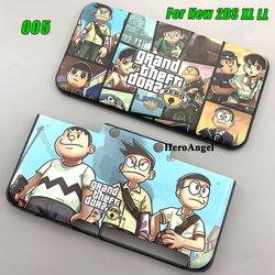 For New 2DS XL LL Protective Shell Case New Design For New 2DS XL LL Hard Carry Guard Cover Skin Case For New 2DSLL XL